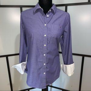 TH Button Down 100% Cotton Shirt